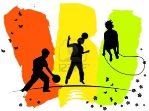 6737360-silhouettes-of-children-playing-sports
